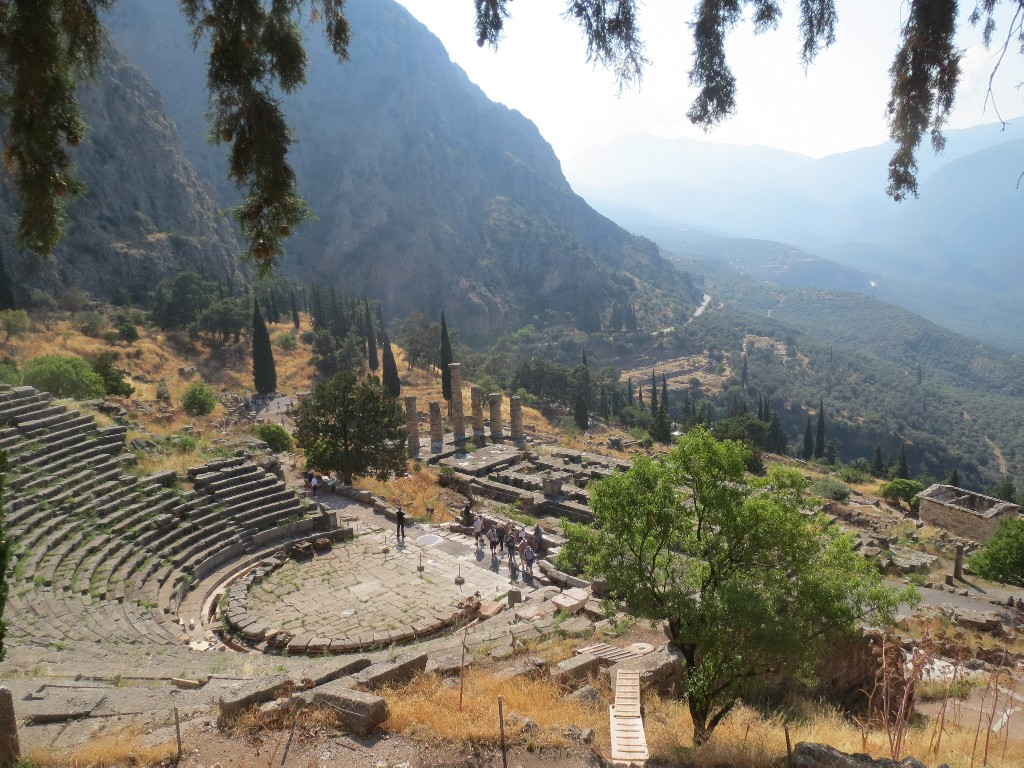 Mountains and Delphi
